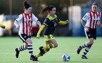EXETER, ENGLAND - February 16: Sophia Pharoah during the SRWFL at Cat and Fiddle Training Ground between Exeter and Southampton Women on February 16 2020, Exeter, England. (Photo by Isabelle Field/Southampton FC via Getty Images)