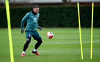 SOUTHAMPTON, ENGLAND - FEBRUARY 18: Pierre-Emile Højbjerg during a Southampton FC training session at the Staplewood Campus on February 18, 2020 in Southampton, England. (Photo by Matt Watson/Southampton FC via Getty Images)