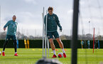 SOUTHAMPTON, ENGLAND - FEBRUARY 25: Jannik Vestergaard during a Southampton FC training session at the Staplewood Campus on February 25, 2020 in Southampton, England. (Photo by Matt Watson/Southampton FC via Getty Images)