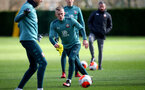SOUTHAMPTON, ENGLAND - FEBRUARY 27: James Ward-Prowse during a Southampton FC training session at the Staplewood Campus on February 27, 2020 in Southampton, England. (Photo by Matt Watson/Southampton FC via Getty Images)