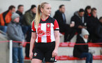 SOUTHAMPTON, ENGLAND - March 1: Rachel Woods of Southampton FC Womens during the FA Women's National League match between Southampton Women and Maidenhead United at Staplewood Campus on March 1 2020, Exeter, England. (Photo by Tom Mulholland/Southampton FC)