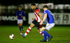 SOUTHAMPTON, ENGLAND - MARCH 02: Ché Adams during PL2 match between Southampton and Leicester City at Staplewood Training Center on March 02 2020 in Southampton England (Photo by Isabelle Field/Southampton FC via Getty Images)