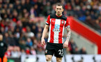 SOUTHAMPTON, ENGLAND - MARCH 07: Pierre-Emile Højbjerg of Southampton during the Premier League match between Southampton FC and Newcastle United at St Mary's Stadium on March 07, 2020 in Southampton, United Kingdom. (Photo by Matt Watson/Southampton FC via Getty Images)
