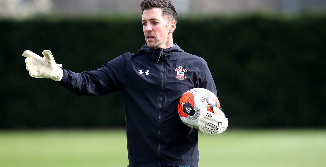 SOUTHAMPTON, ENGLAND - MARCH 11: Andrew Sparkes during a Southampton FC training session at the Staplewood Campus on March 11, 2020 in Southampton, England. (Photo by Matt Watson/Southampton FC via Getty Images)