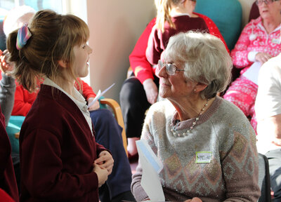Saints Foundation support Connecting Generations campaign