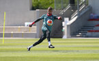 SOUTHAMPTON, ENGLAND - MAY 29: Angus Gunn during a Southampton FC training session, at the Staplewood Campus on May 29, 2020 in Southampton, England. (Photo by Matt Watson/Southampton FC via Getty Images)