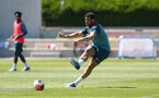 SOUTHAMPTON, ENGLAND - MAY 29: Ché Adams during a Southampton FC training session, at the Staplewood Campus on May 29, 2020 in Southampton, England. (Photo by Matt Watson/Southampton FC via Getty Images)