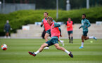 SOUTHAMPTON, ENGLAND - JUNE 09: James Ward-Prowse during a Southampton FC training session at the Staplewood Campus on June 09, 2020 in Southampton, England. (Photo by Matt Watson/Southampton FC via Getty Images)