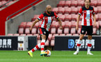 SOUTHAMPTON, ENGLAND - JUNE 12: Nathan Redmond during a friendly match between Southampton FC and Bristol City, ahead of the Premier League re-start, at St Mary's Stadium on June 12, 2020 in Southampton, England. (Photo by Matt Watson/Southampton FC via Getty Images)