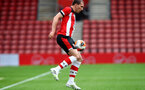 SOUTHAMPTON, ENGLAND - JUNE 12: Pierre-Emile Hojbjerg during a friendly match between Southampton FC and Bristol City, ahead of the Premier League re-start, at St Mary's Stadium on June 12, 2020 in Southampton, England. (Photo by Matt Watson/Southampton FC via Getty Images)