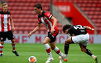 SOUTHAMPTON, ENGLAND - JUNE 12: Will Smallbone during a friendly match between Southampton FC and Bristol City, ahead of the Premier League re-start, at St Mary's Stadium on June 12, 2020 in Southampton, England. (Photo by Matt Watson/Southampton FC via Getty Images)