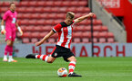 SOUTHAMPTON, ENGLAND - JUNE 12: James Ward-Prowse during a friendly match between Southampton FC and Bristol City, ahead of the Premier League re-start, at St Mary's Stadium on June 12, 2020 in Southampton, England. (Photo by Matt Watson/Southampton FC via Getty Images)