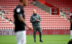 SOUTHAMPTON, ENGLAND - JUNE 12: Kevin Davis during a friendly match between Southampton FC and Bristol City, ahead of the Premier League re-start, at St Mary's Stadium on June 12, 2020 in Southampton, England. (Photo by Matt Watson/Southampton FC via Getty Images)
