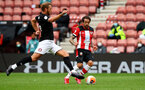 SOUTHAMPTON, ENGLAND - JUNE 12: Danny Ings during a friendly match between Southampton FC and Bristol City, ahead of the Premier League re-start, at St Mary's Stadium on June 12, 2020 in Southampton, England. (Photo by Matt Watson/Southampton FC via Getty Images)