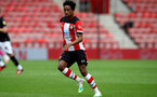 SOUTHAMPTON, ENGLAND - JUNE 12: Kyle Walker-Peters during a friendly match between Southampton FC and Bristol City, ahead of the Premier League re-start, at St Mary's Stadium on June 12, 2020 in Southampton, England. (Photo by Matt Watson/Southampton FC via Getty Images)