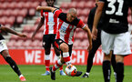 SOUTHAMPTON, ENGLAND - JUNE 12: Oriol Romeu during a friendly match between Southampton FC and Bristol City, ahead of the Premier League re-start, at St Mary's Stadium on June 12, 2020 in Southampton, England. (Photo by Matt Watson/Southampton FC via Getty Images)