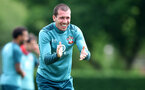 SOUTHAMPTON, ENGLAND - JUNE 17: Pierre-Emile Højbjerg during a Southampton FC training session at the Staplewood Campus on June 17, 2020 in Southampton, England. (Photo by Matt Watson/Southampton FC via Getty Images)