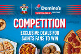 Win a Domino's family bundle for Man City!