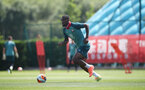 SOUTHAMPTON, ENGLAND - JUNE 22: Kevin Danso during a Southampton FC training session, at the Staplewood Campus, on June 22, 2020 in Southampton, England. (Photo by Matt Watson/Southampton FC via Getty Images)