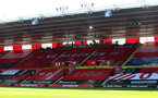 SOUTHAMPTON, ENGLAND - JUNE 25: A general view of the Kingsland stand during the Premier League match between Southampton FC and Arsenal FC at St Mary's Stadium on June 25, 2020 in Southampton, United Kingdom. (Photo by Matt Watson/Southampton FC via Getty Images)