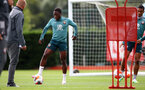 SOUTHAMPTON, ENGLAND - JULY 01: Michael Obafemi during a Southampton FC training session at the Staplewood Campus on July 01, 2020 in Southampton, England. (Photo by Matt Watson/Southampton FC via Getty Images)