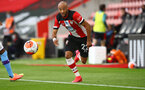 SOUTHAMPTON, ENGLAND - JULY 05: Nathan Redmond during the Premier League match between Southampton FC and Manchester City at St Mary's Stadium on July 5, 2020 in Southampton, United Kingdom. Football Stadiums around Europe remain empty due to the Coronavirus Pandemic as Government social distancing laws prohibit fans inside venues resulting in games being played behind closed doors. (Photo by Matt Watson/Southampton FC via Getty Images)