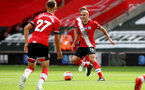 SOUTHAMPTON, ENGLAND - JULY 26: Oriol Romeu (R) of Southampton during the Premier League match between Southampton FC and Sheffield United at St Mary's Stadium on April 17, 2020 in Southampton, United Kingdom. (Photo by Matt Watson/Southampton FC via Getty Images)