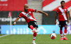 SOUTHAMPTON, ENGLAND - JULY 26: Nathan Redmond of Southampton during the Premier League match between Southampton FC and Sheffield United at St Mary's Stadium on April 17, 2020 in Southampton, United Kingdom. (Photo by Chris Moorhouse/Southampton FC via Getty Images)