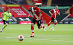 SOUTHAMPTON, ENGLAND - JULY 26: Danny Ings of Southampton during the Premier League match between Southampton FC and Sheffield United at St Mary's Stadium on July 26, 2020 in Southampton, United Kingdom. (Photo by Matt Watson/Southampton FC via Getty Images)