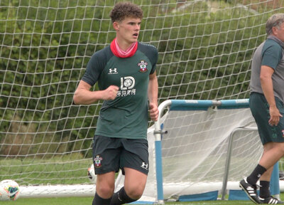 Young striker Pearce joins Saints Academy