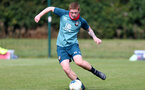 SOUTHAMPTON, ENGLAND - August 13: Kameron Ledwidge during a Southampton U18 training session at Staplewood Training ground on August 13, 2020 in Southampton, England. (Photo by Isabelle Field/Southampton FC via Getty Images)