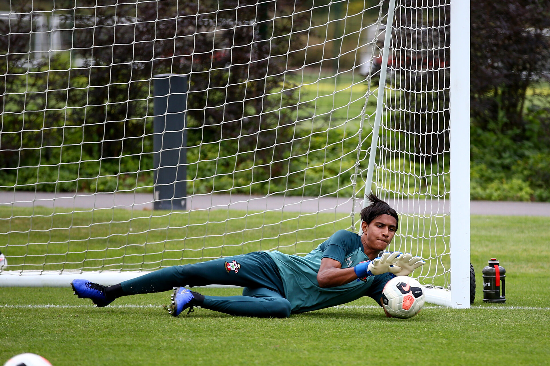 SOUTHAMPTON, ENGLAND - August 13: Gustav Lillenberg during a Southampton U18 training session at Staplewood Training ground on August 13, 2020 in Southampton, England. (Photo by Isabelle Field/Southampton FC via Getty Images)
