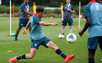 SOUTHAMPTON, ENGLAND - August 13: James Morris during a Southampton U18 training session at Staplewood Training ground on August 13, 2020 in Southampton, England. (Photo by Isabelle Field/Southampton FC via Getty Images)