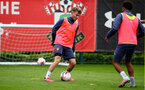 SOUTHAMPTON, ENGLAND - AUGUST 25: Jake Vokins during a Southampton FC training session at the Staplewood Campus on August 25, 2020 in Southampton, England. (Photo by Matt Watson/Southampton FC via Getty Images)