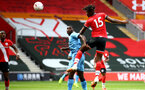 SOUTHAMPTON, ENGLAND - SEPTEMBER 1: Allan Tchaptchet during a pre-season friendly match between Southampton U23 and Coventry City at St Mary's Stadium on September 1, 2020 in Southampton, United Kingdom. (Photo by Isabelle Field/Southampton FC)