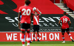 SOUTHAMPTON, ENGLAND - SEPTEMBER 1: Kameron Ledwidge of Southampton during a pre-season friendly match between Southampton U23 and Coventry City at St Mary's Stadium on September 1, 2020 in Southampton, United Kingdom. (Photo by Isabelle Field/Southampton FC)