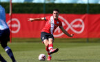 SOUTHAMPTON, ENGLAND - SEPTEMBER 05: Tom O'Connor during a Southampton FC U23 pre season friendly against Working FC at Staplewood Campus on September 05, 2020 in Southampton, England. (Photo by Isabelle Field/Southampton FC)