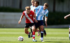 SOUTHAMPTON, ENGLAND - SEPTEMBER 05: Jake Hesketh during a Southampton FC U23 pre season friendly against Working FC at Staplewood Campus on September 05, 2020 in Southampton, England. (Photo by Isabelle Field/Southampton FC)