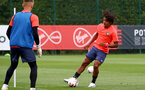 LONDON, ENGLAND - SEPTEMBER 15: Caleb Watts during B Team training session Staplewood Training Ground on September 15, 2020 in Southampton, United Kingdom. (Photo by Isabelle Field/Southampton FC via Getty Images)