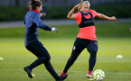 LONDON, ENGLAND - SEPTEMBER 10: Catlin Morris during women's training session Staplewood Training Ground on September 10, 2020 in Southampton, United Kingdom. (Photo by Isabelle Field/Southampton FC via Getty Images)