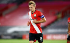SOUTHAMPTON, ENGLAND - SEPTEMBER 16: James Ward-Prowse of Southampton during the second round of the Carabao Cup match between Southampton FC and Brentford FC at St. Mary's Stadium on September 16, 2020 in Southampton, England. (Photo by Matt Watson/Southampton FC via Getty Images)