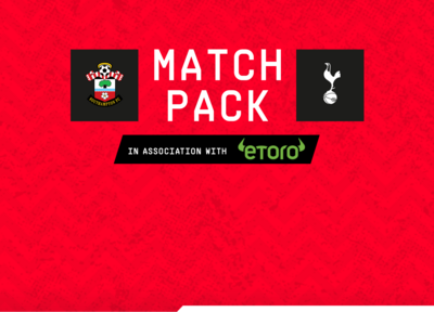 Match Pack: Saints vs Tottenham