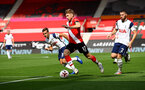 SOUTHAMPTON, ENGLAND - SEPTEMBER 20: Stuart Armstrong of Southampton during the Premier League match between Southampton and Tottenham Hotspur at St Mary's Stadium on September 20, 2020 in Southampton, United Kingdom. (Photo by Matt Watson/Southampton FC via Getty Images)