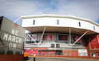 SOUTHAMPTON, ENGLAND - SEPTEMBER 20: St Mary's Stadium general view during the Premier League match between Southampton and Tottenham Hotspur at St Mary's Stadium on September 20, 2020 in Southampton, United Kingdom. (Photo by Chris Moorhouse/Southampton FC via Getty Images)