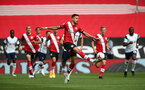 SOUTHAMPTON, ENGLAND - SEPTEMBER 20: Jan Bednarek during the Premier League match between Southampton and Tottenham Hotspur at St Mary's Stadium on September 20, 2020 in Southampton, United Kingdom. (Photo by Chris Moorhouse/Southampton FC via Getty Images)