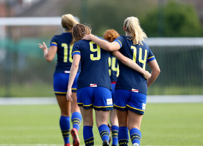 Women's Gallery: Poole 1-5 Saints