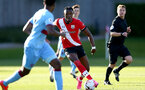SOUTHAMPTON, ENGLAND - SEPTEMBER 26: Dan N'Lundulu of Southampton during Premier League 2 Match between Southampton B Team and West Ham United at Staplewood Training Ground on September 26, 2020 in Southampton, England. (Photo by Isabelle Field/Southampton FC via Getty Images)