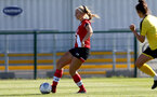 Southampton, ENGLAND - SEPTEMBER 27: Catlin Morris of Southampton during the FAWNL match between Southampton Women and Buckland Athletic at Snows Stadium on September 27, 2020 in Southampton, United Kingdom (Photo by Isabelle Field/Southampton FC via Getty Images)