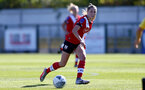 Southampton, ENGLAND - SEPTEMBER 27: Alisha Ware of Southampton during the FAWNL match between Southampton Women and Buckland Athletic at Snows Stadium on September 27, 2020 in Southampton, United Kingdom (Photo by Isabelle Field/Southampton FC via Getty Images)