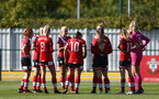 Southampton, ENGLAND - SEPTEMBER 27: southampton players during the FAWNL match between Southampton Women and Buckland Athletic at Snows Stadium on September 27, 2020 in Southampton, United Kingdom (Photo by Isabelle Field/Southampton FC via Getty Images)